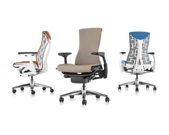 Exemplo de cadeira ergonómica