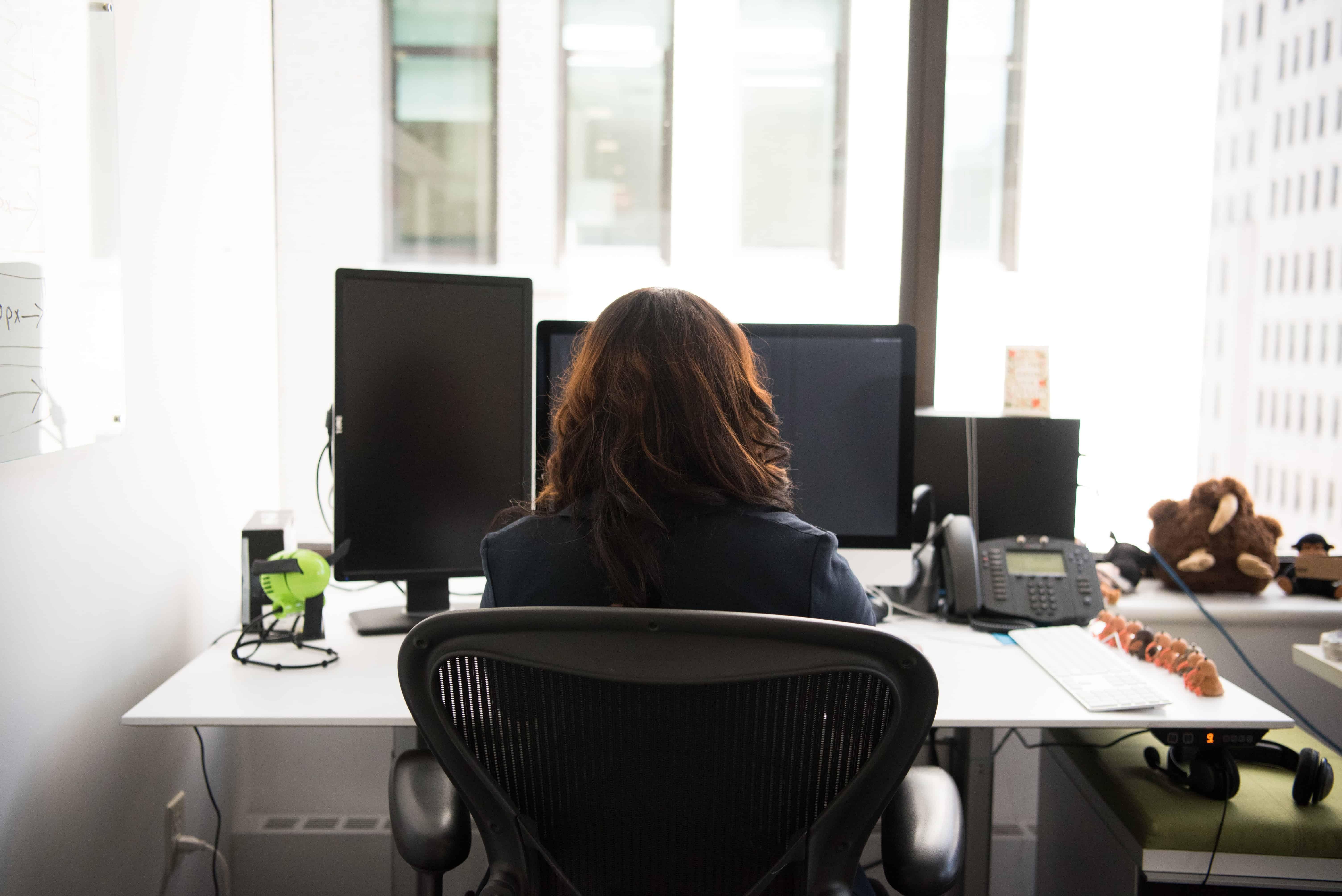 Cadeiras ergonómicas para o escritório